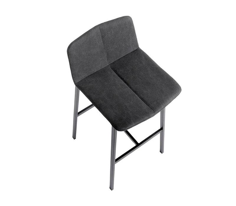 Bar stool 'Chamfer' Anthracite - 65cm