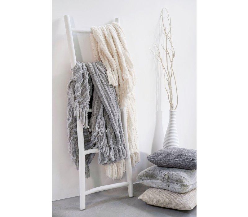 Plaid - Galloway grey in maat 130x180cm