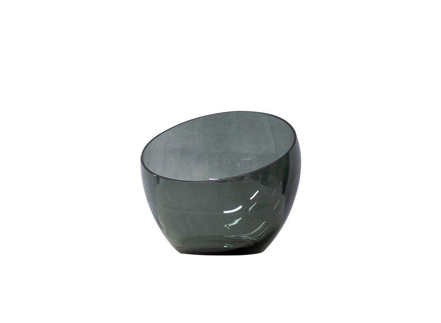 Glazen theelicht 'Bowl' - M
