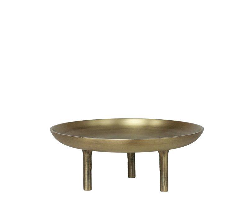 Schaal 'Aluminium' - Bronze - S