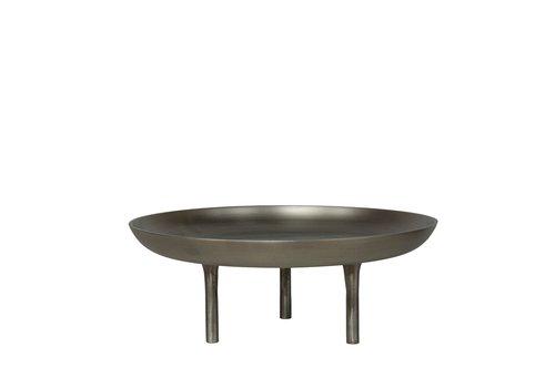 Dome Deco Bowl Aluminium - Grey - M