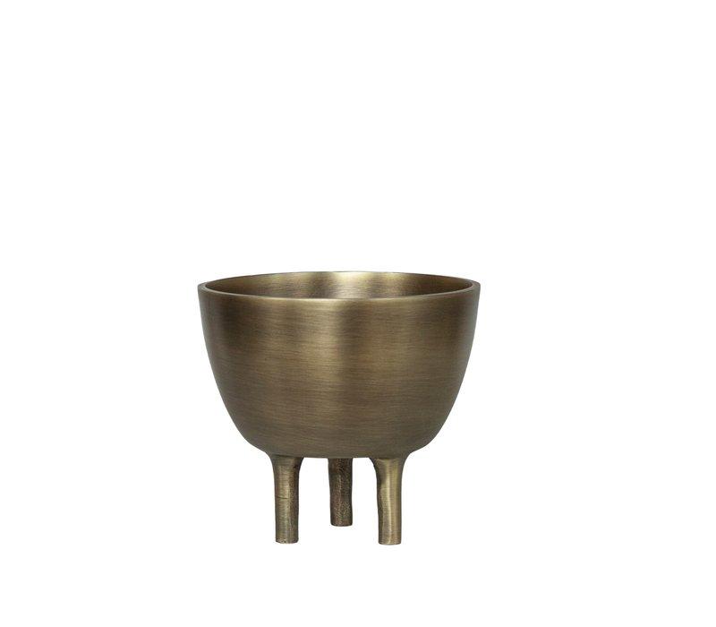 Schale 'Aluminium' - Bronze - S