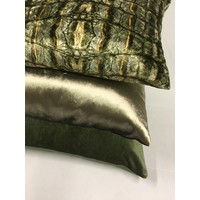 Cushion combination Olive/Army: Croco, Perla & Bellana