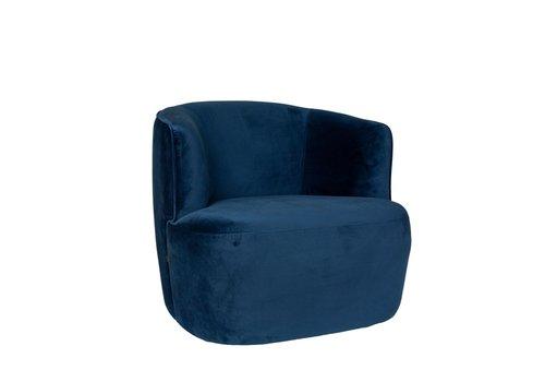 Dome Deco Lounge chair Hugo - Blue