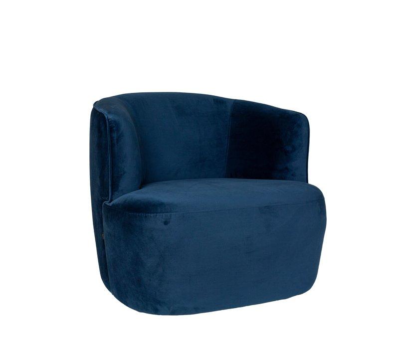 Lounge chair 'Hugo' - Blue
