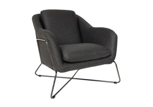 Dome Deco Gin Lounge Chair 'Brown'