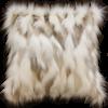 Heirloom / Mulberi by Furtex Pelzkissen 'Snowshoe Hare' 45x45cm