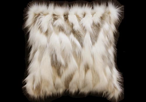 Heirloom Pelzkissen - Snowshoe Hare