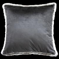 Bontkussen 'Silver Marten'  45x45cm