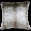 Heirloom / Mulberi by Furtex Faux Fur cushion 'Silver Marten' 45x45cm