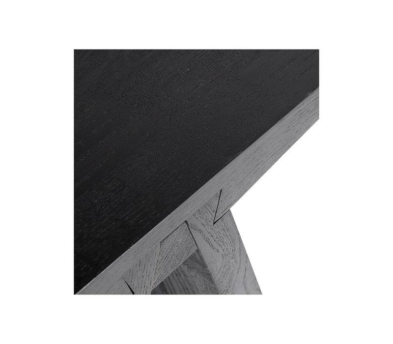 Stool 'Angle' Black