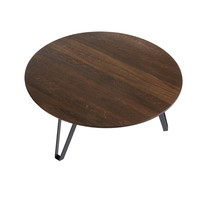 Coffee table Space Smoked XL, geolied eikenhout