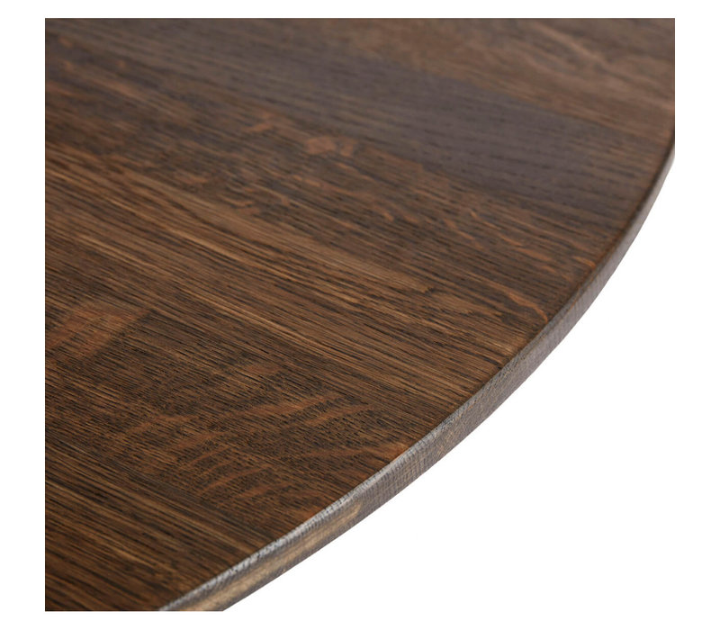 Coffee table Space Smoked XL, oiled oak