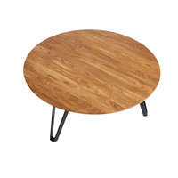 Coffee table Space Natural XL, oiled oak