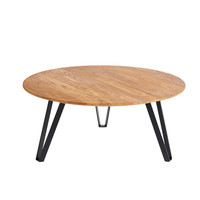 Coffee table Space Natural XL, geolied eikenhout