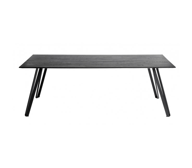 Dining table 'Space' Black - Oak