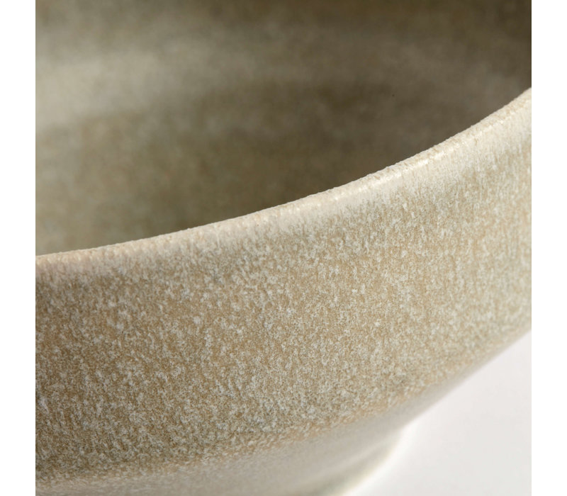 Bowl 'Ceto' Soft Grey - set of 2