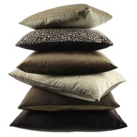 Throw pillow Siebe Chocolate