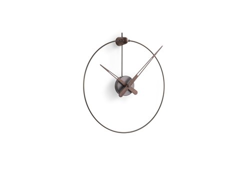 Nomon 'Micro Anda Graphite t' wall clock