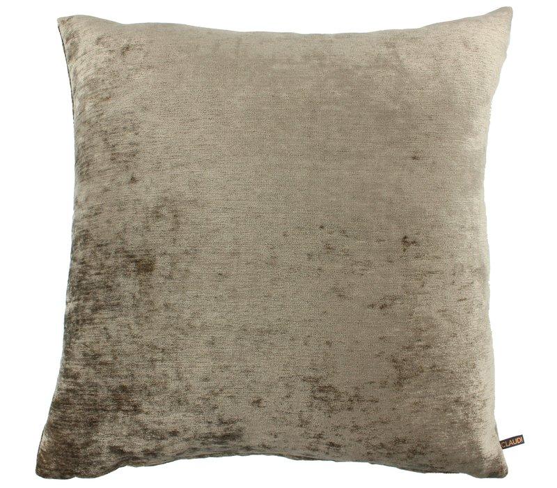 Cushion Scarlet Dark Gold