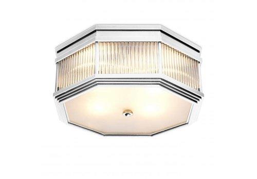 EICHHOLTZ Plafondlamp 'Bagatelle' - Nickel