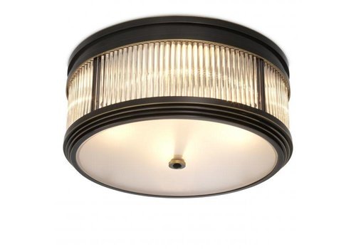 EICHHOLTZ Ceiling Lamp 'Rousseau' - Bronze