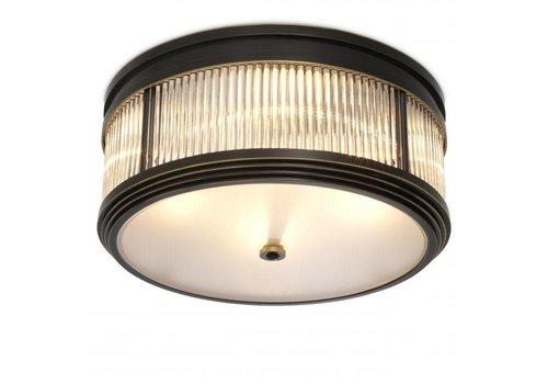 EICHHOLTZ Plafondlamp 'Rousseau' - Bronze