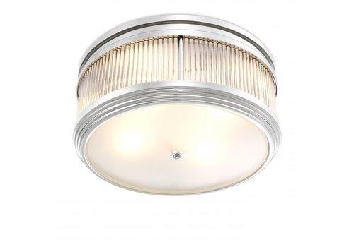 EICHHOLTZ Deckenlampe 'Rousseau' - Nickel