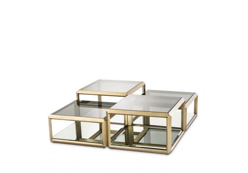 EICHHOLTZ Coffee table Callum  Set of 4