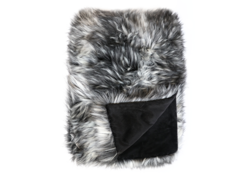 Heirloom / Mulberi by Furtex Pelzplaid - Alaskan Wolf