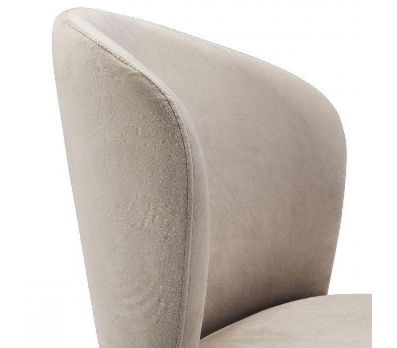 Dining chair 'Volante' - Roche beige