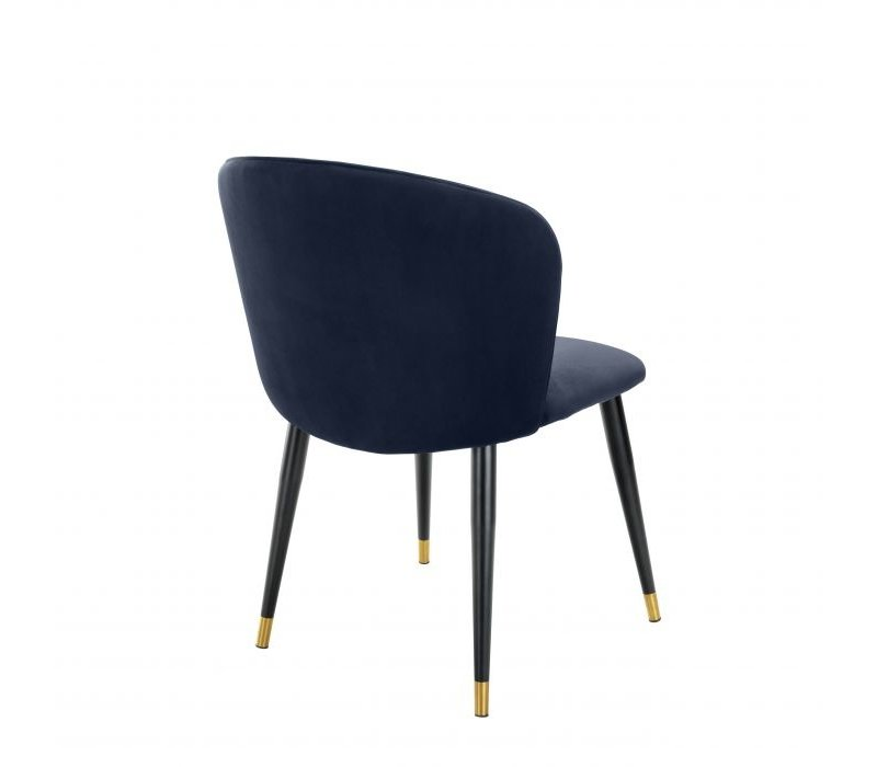 Dining chair 'Volante' - Savona midnight blue