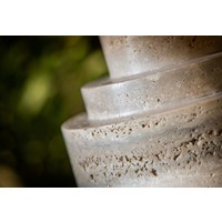 Vase 'Marble' - Cream - S