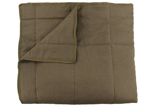 CLAUDI Bedspread Maia - Brown