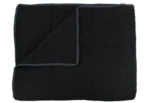 CLAUDI Bedspread Maia - Black
