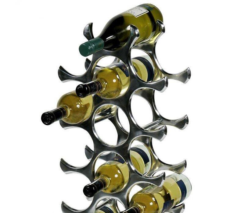 Design Weinregal 'Alboran' für 27 Flaschen.
