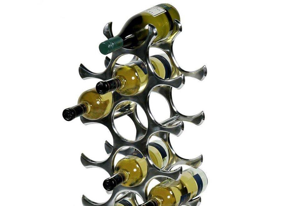 Design wijnrek groot 'Alboran L' voor 27 flessen