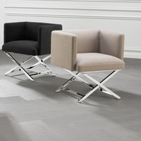 Chair 'Dawson' Panama Black