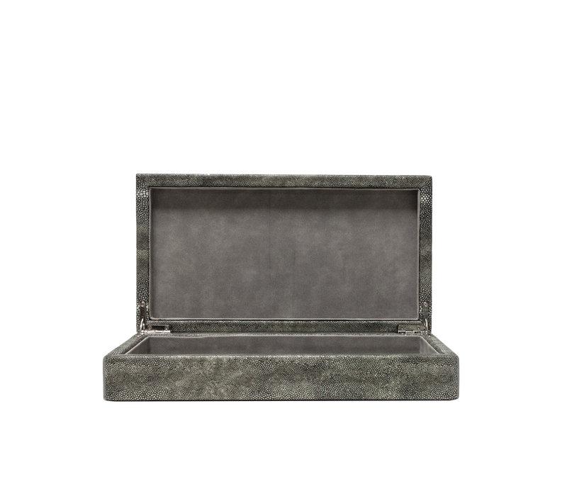 Storage box 'Leather' - S