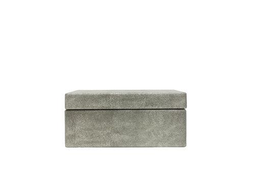 Dome Deco Storage box Leather - L