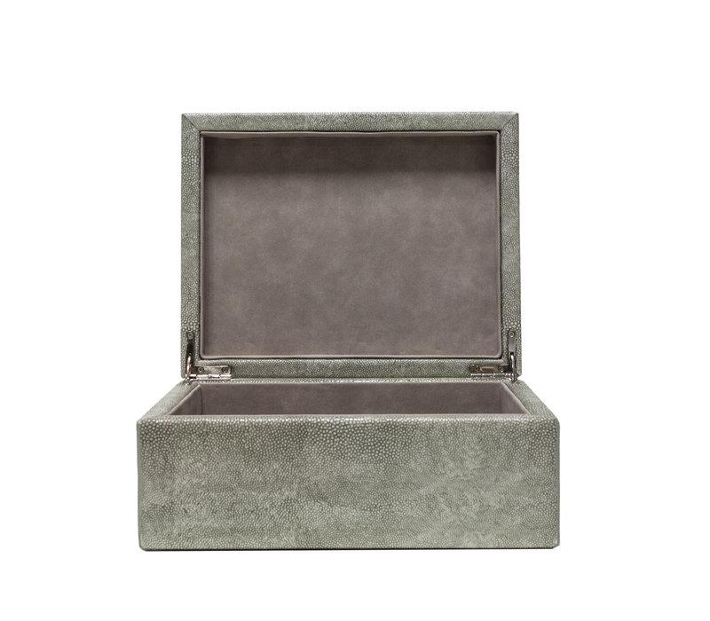 Storage box 'Leather' - L