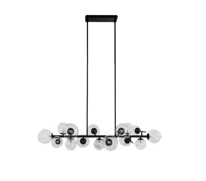 Hängelampe 'Pendant with 15 Bulbs + LED'