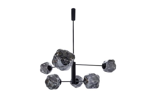 Dome Deco Hanging lamp Pendant with 6 bulbs + LED