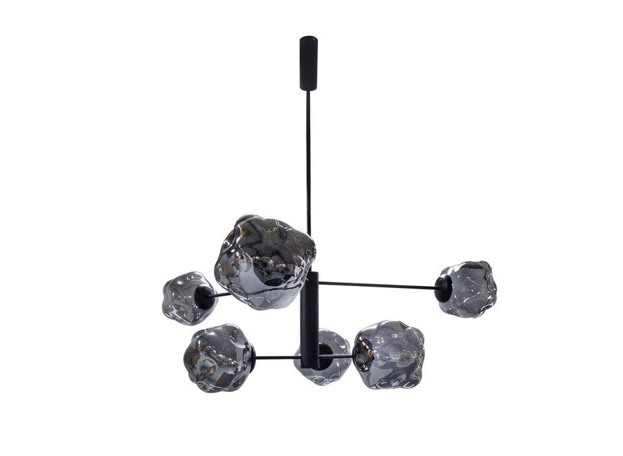 Hängelampe Pendant with 6 Bulbs + LED
