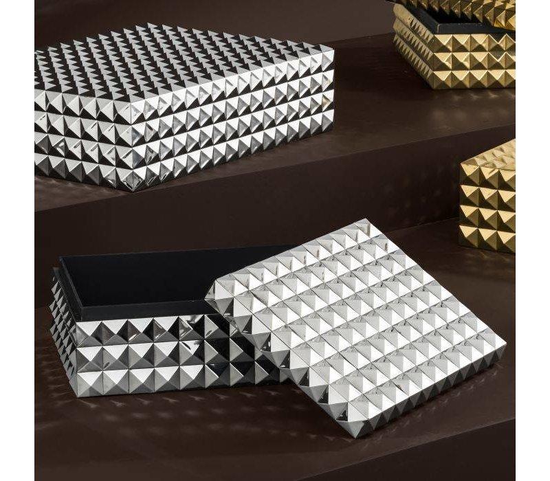 Luxus-Sammeldose 'Viviënne' S - Nickel