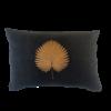Leïlah Kissen Kava Bronze Fan Palm