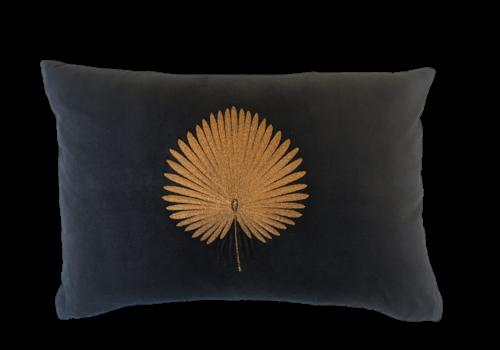 Leïlah Cushion Kava Bronze Fan Palm