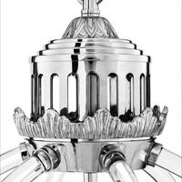 Chandelier 'Impero' - Nickel