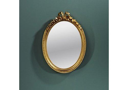 Deknudt Kleiner Spiegel oval 'Cosy' Gold