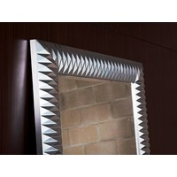 large mirror 'Nick' in silver